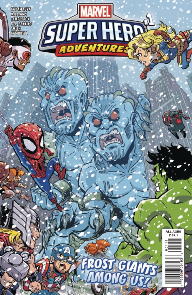 Marvel Superhero Adventures: Frost Giants Among Us!