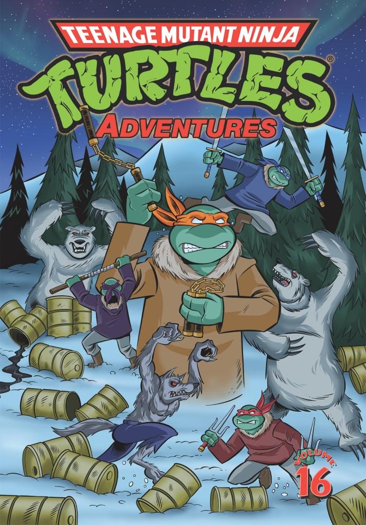 Teenage Mutant Ninja Turtles Adventures, Vol. 16