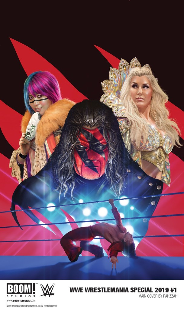 WWE Wrestlemania Special 2019 #1 cover by Rahzzah