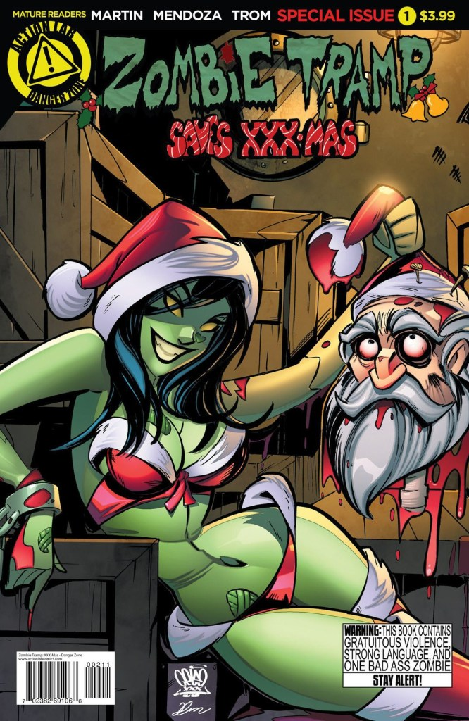 ZOMBIE TRAMP SAVES XXXMAS SPECIAL