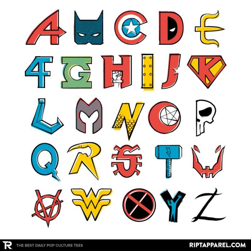 Comics Alphabet
