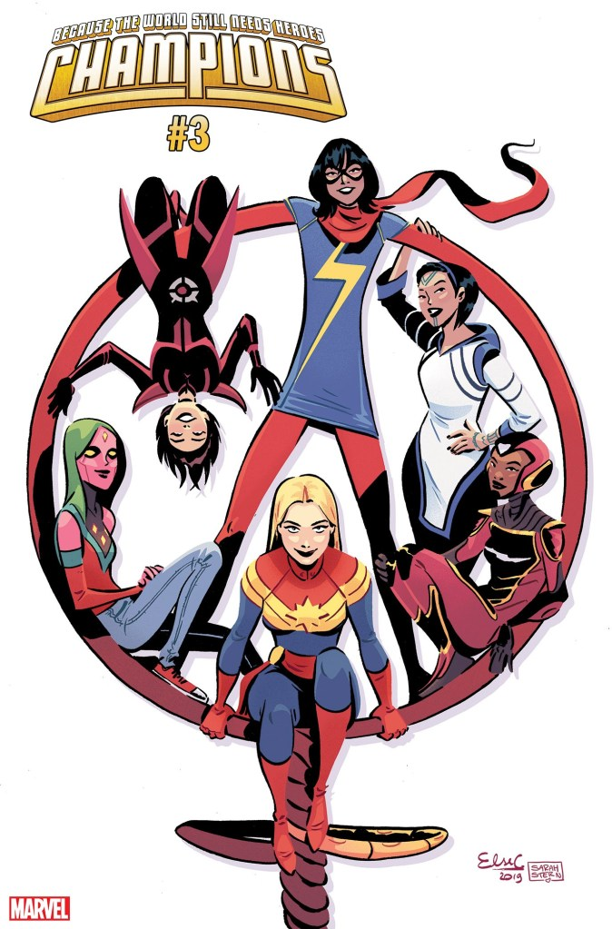 Champions #3 International Women's Day variant