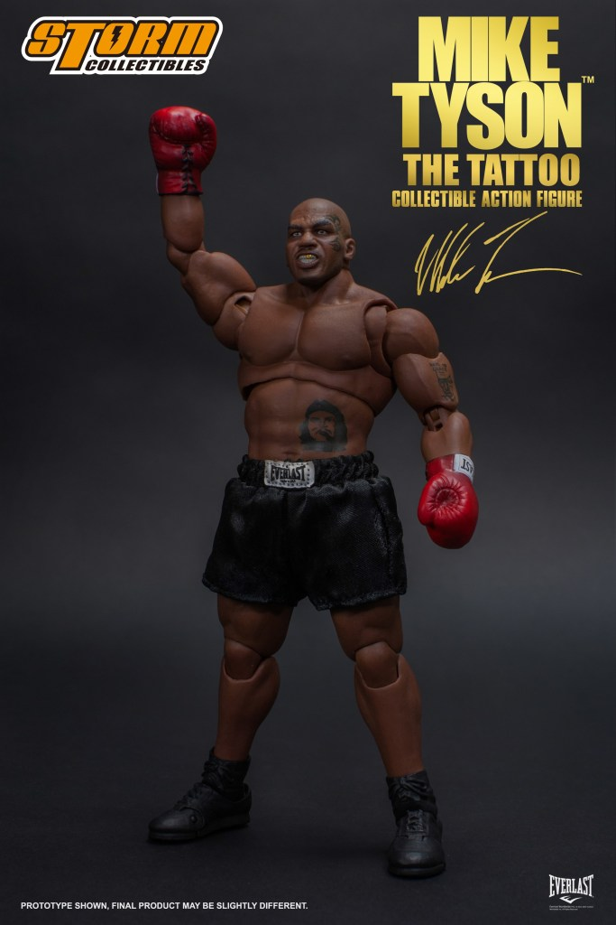 "e1fedd4f88ced The Storm Collectibles' Mike Tyson ""The Tattoo"" figure will be available  for purchase in April, 2019 from authorized Bluefin retailers nationwide."