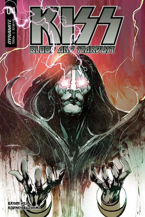 KISS: Blood And Stardust #4