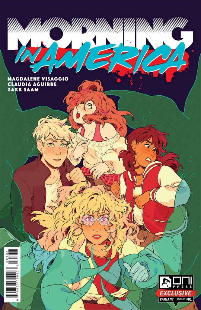 Morning in America #1 Rii Abrego convention exclusive cover