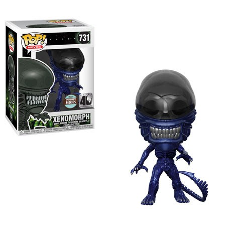 Pop! Movies: Alien 40th - Xenomorph (Blue Metallic)
