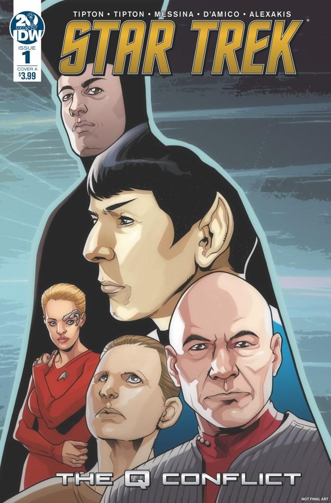 Star Trek: The Q Conflict #1 (of 6)
