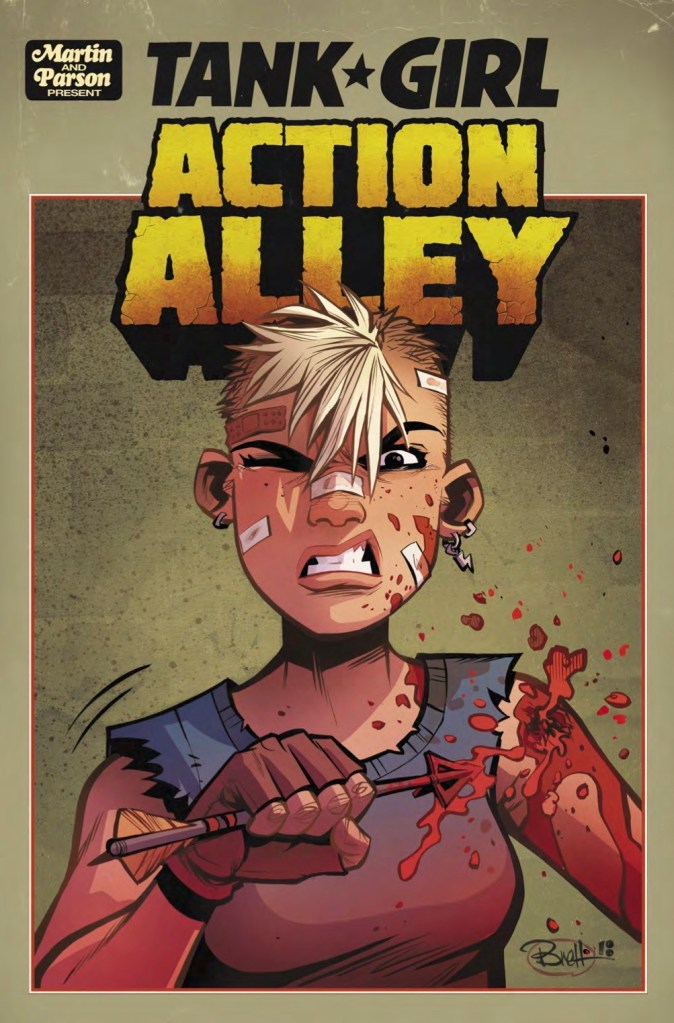TANK GIRL ACTION ALLEY #2