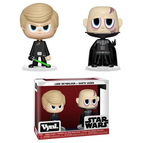 Vynl.: Star Wars: Luke Skywalker and Darth Vader