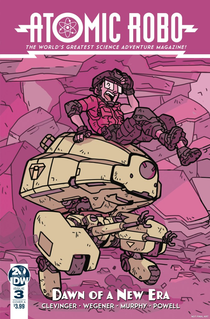 Atomic Robo and the Dawn of a New Era #3