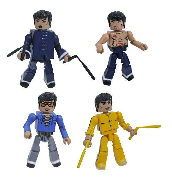 Bruce Lee Minimates Series 1 Box Set