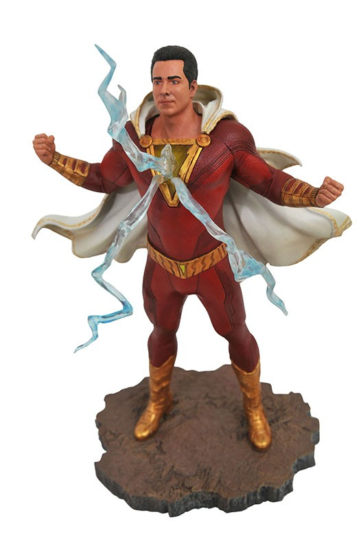 DC Movie Gallery Shazam PVC Diorama