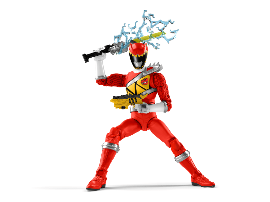"POWER RANGERS LIGHTNING COLLECTION 6"" DINO CHARGE RED RANGER Figure"