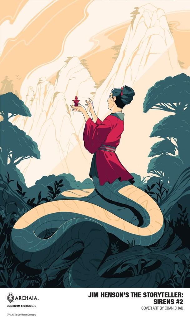 Jim Henson's The Storyteller: Sirens #2