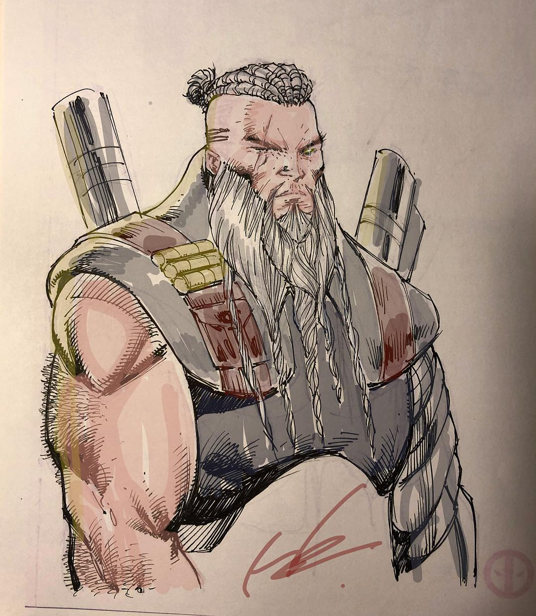 Rob Liefeld Delivers a New Take on Cable for Major X