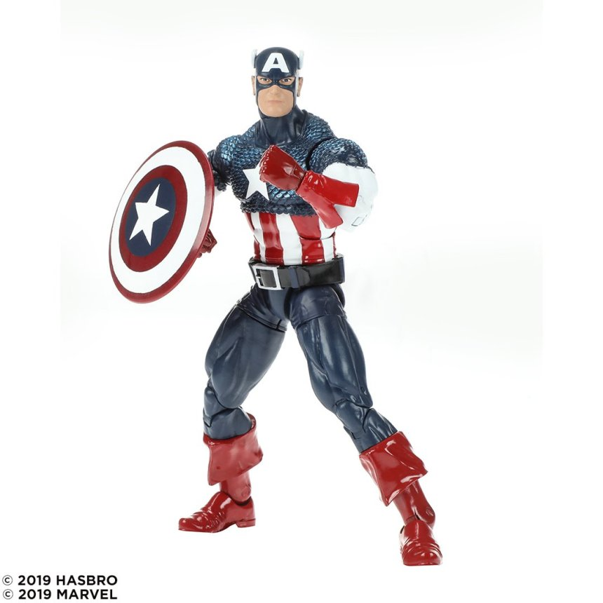 Marvel 80th Anniversary Legends Captain America
