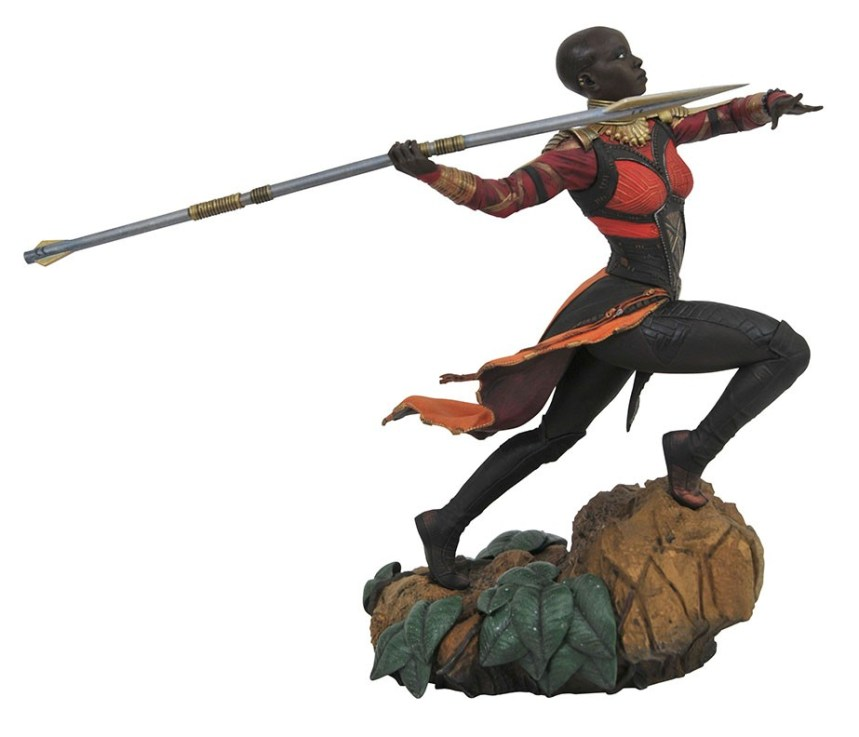 Marvel Movie Gallery Black Panther Okoye PVC Diorama