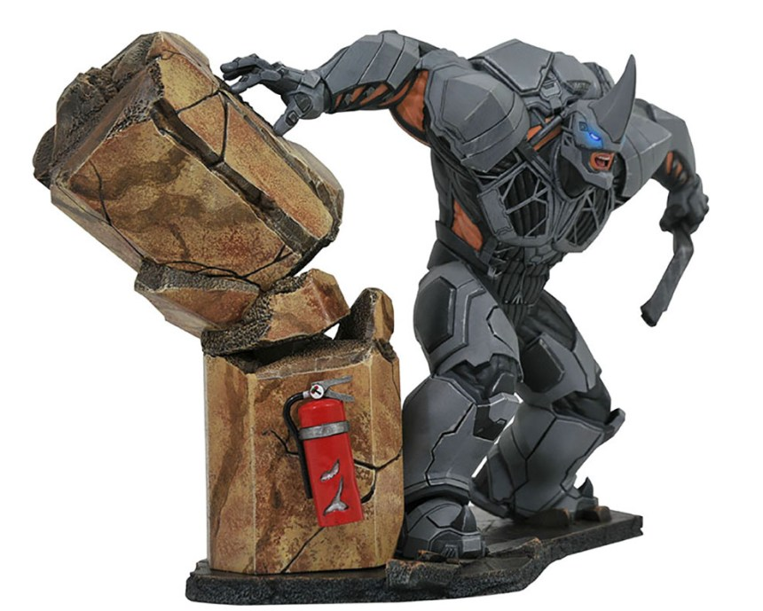 Marvel Video Game Deluxe Gallery Rhino PVC Diorama
