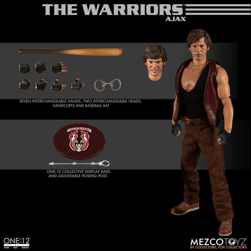 One:12 Collective The Warriors Deluxe Box Set