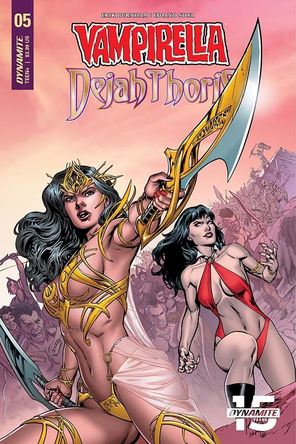 Vampirella/Dejah Thoris #5