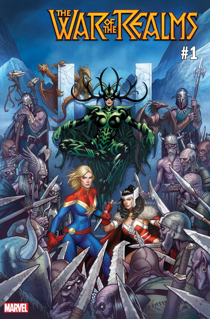 War of Realms #1 Frank Cho variant