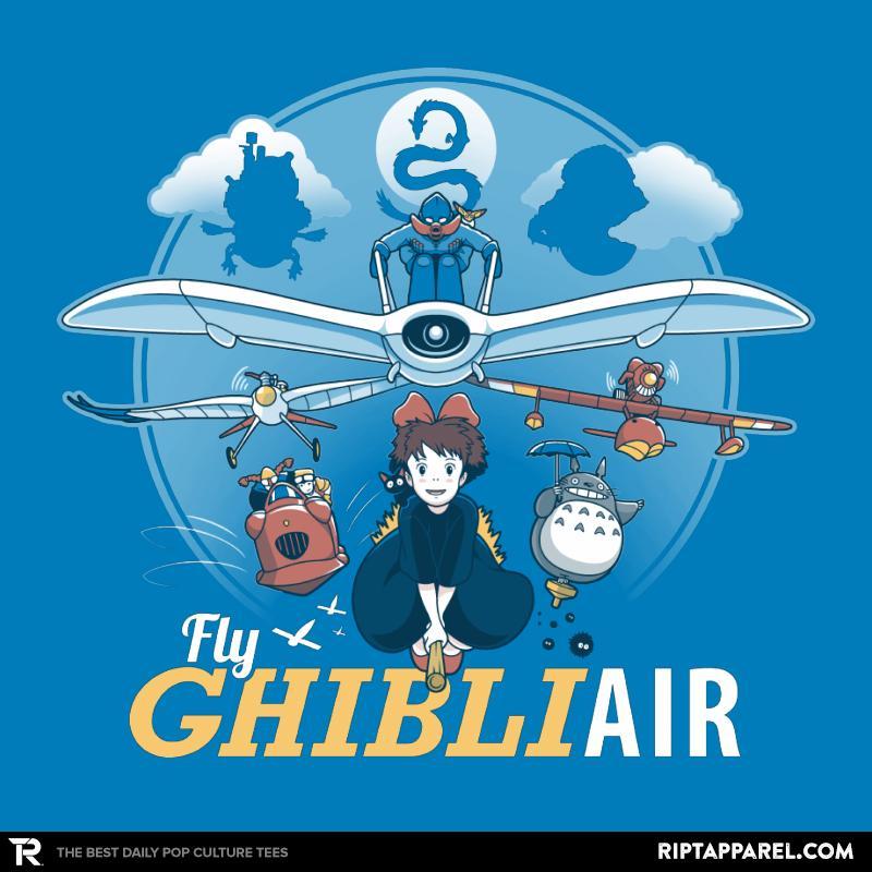 Fly Ghibli Air