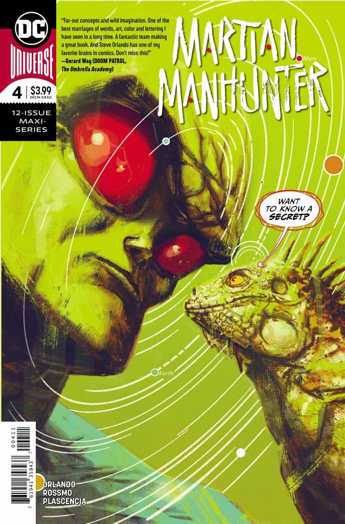 Martian Manhunter #4 (of 12)