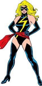 Captain Marvel Carol Danvers old costume Ms. Marvel