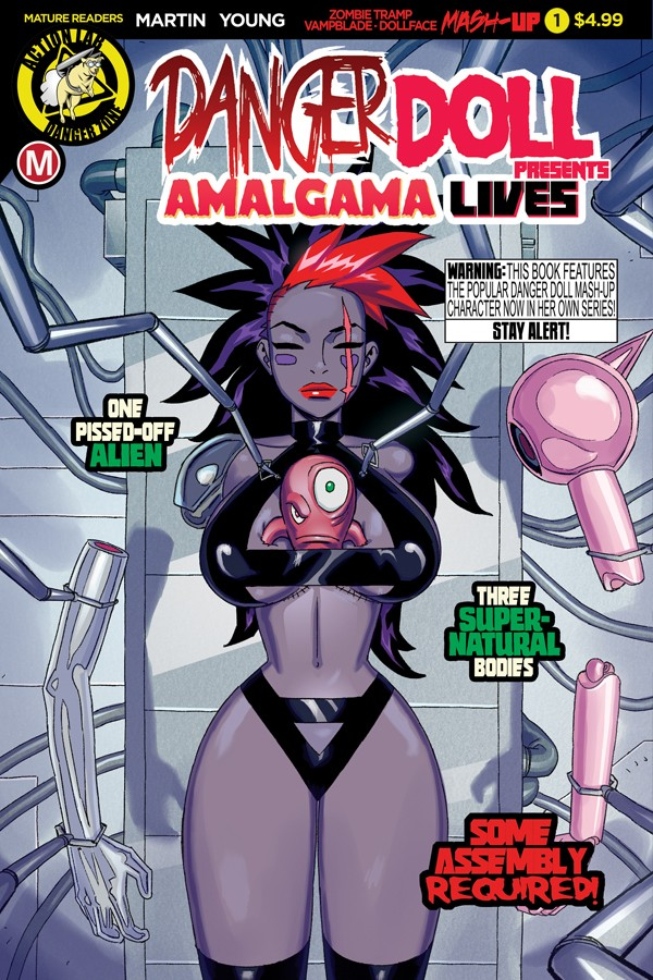 DANGER DOLL SQUAD PRESENTS AMALGAMA LIVES! #1