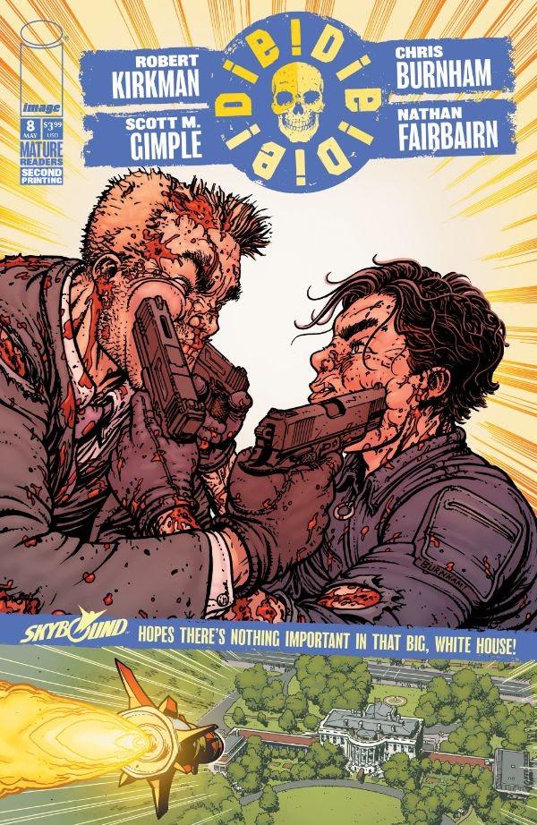 Die!Die!Die! #8, second printing