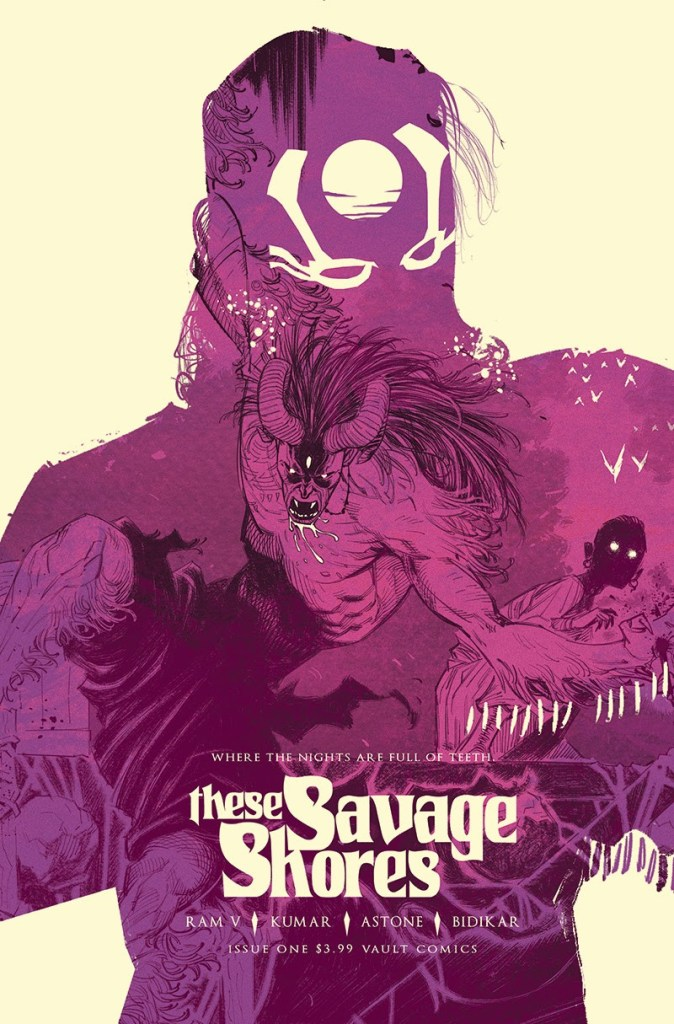 These Savage Shores Issue #1, Cover art featuring Bishan