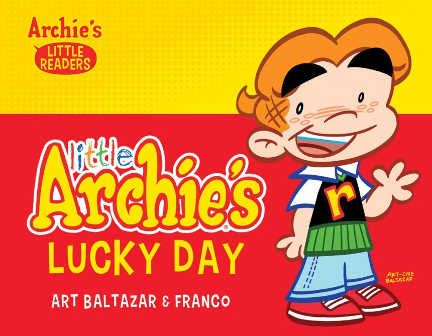 LITTLE ARCHIE'S LUCKY DAY PICTURE BOOK (HC)