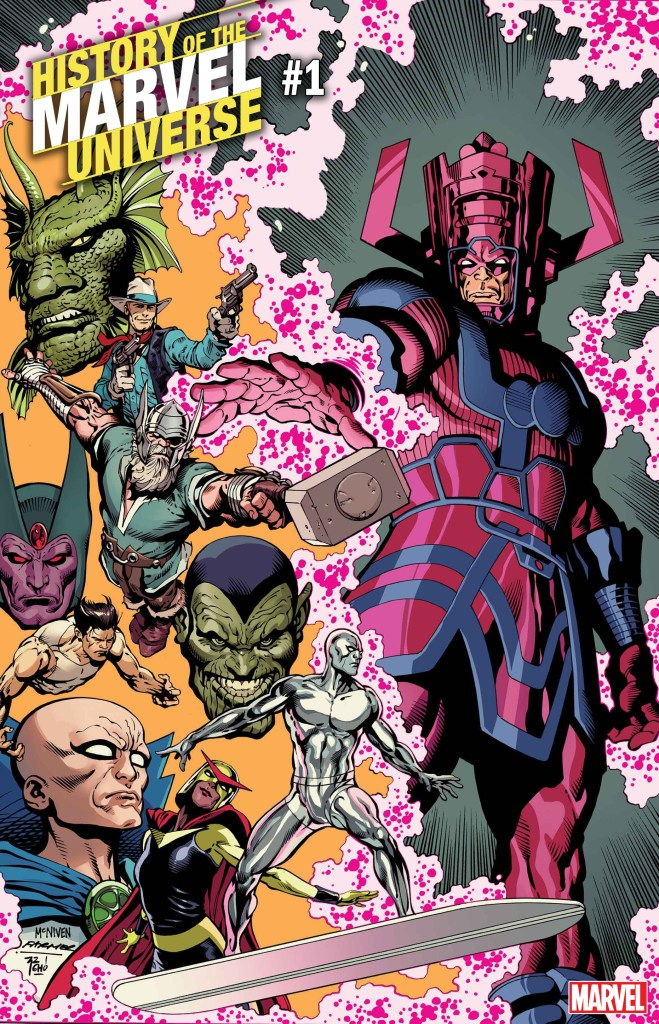 History of the Marvel Universe #1