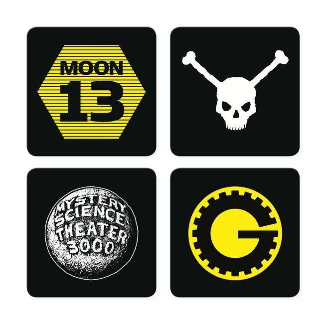 Mystery Science Theater 3000 Coaster Set