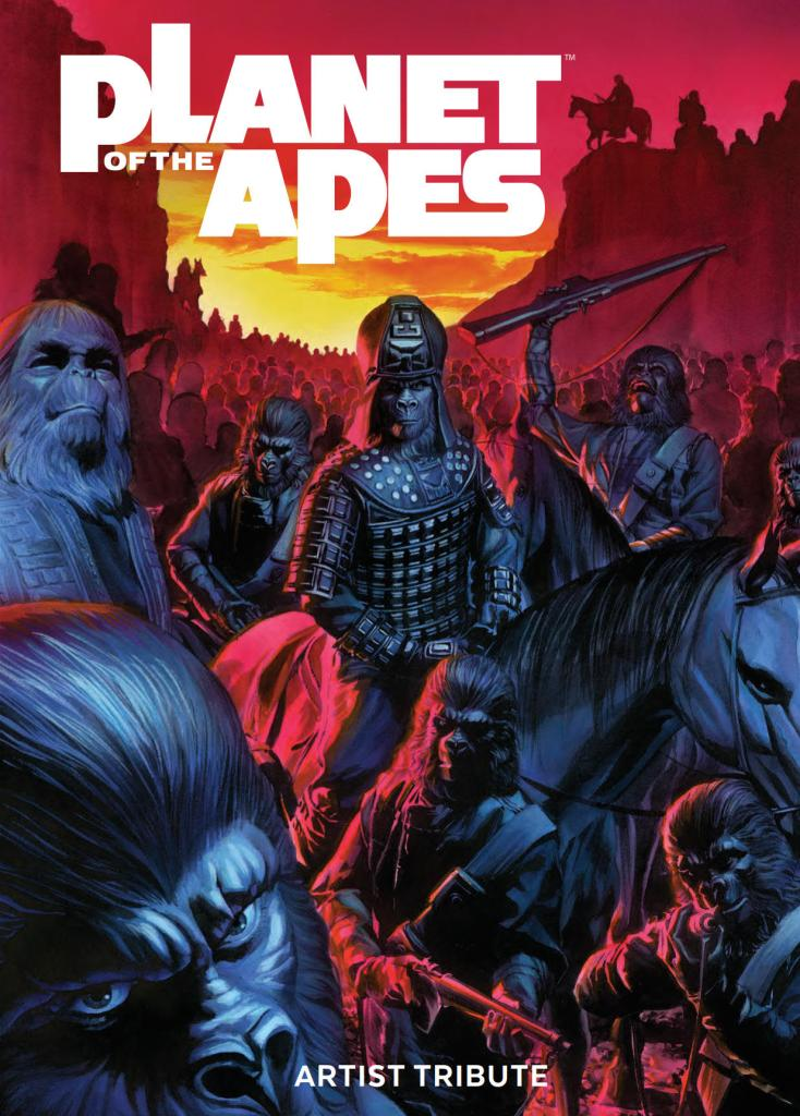 Planet Of The Apes Artist Tribute HC