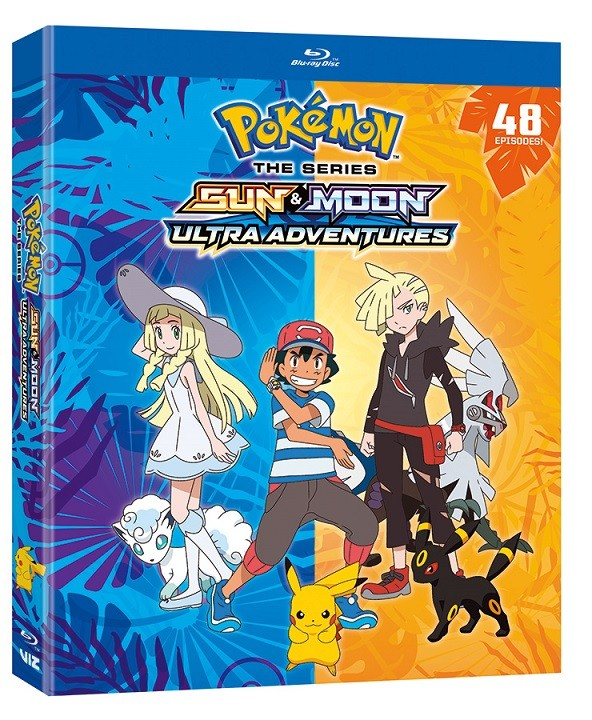 POKÉMON THE SERIES: SUN & MOON—ULTRA ADVENTURES COMPLETE COLLECTION