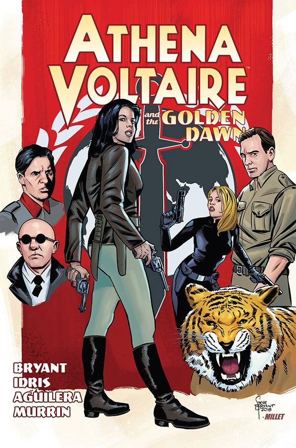 ATHENA VOLTAIRE AND THE GOLDEN DAWN TPB