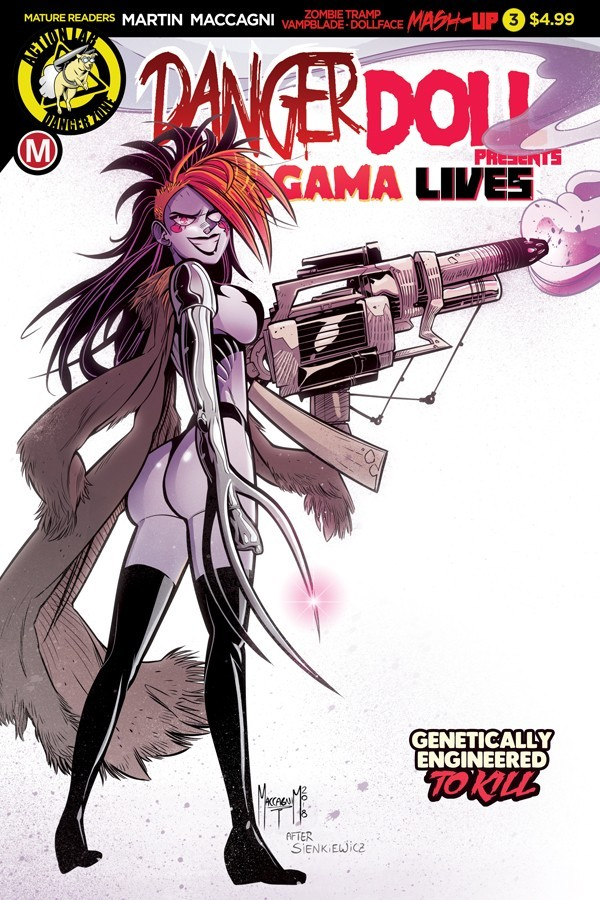 DANGER DOLL SQUAD PRESENTS AMALGAMA LIVES! #3