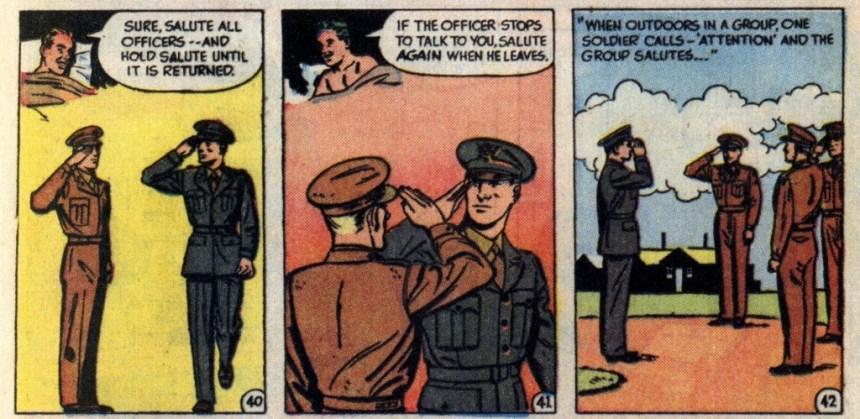 gov comics how to salute