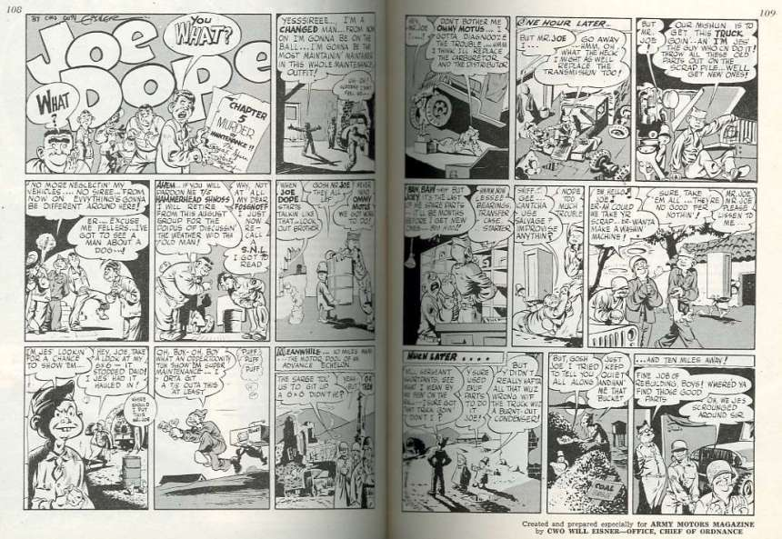 gov comics joe dope part propaganda precursor to PS