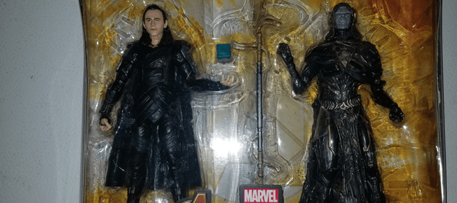 2019 Marvel Legends Avengers IW Loki /& Corvus Glaive 2 Pack WALMART EXCLUSIVE