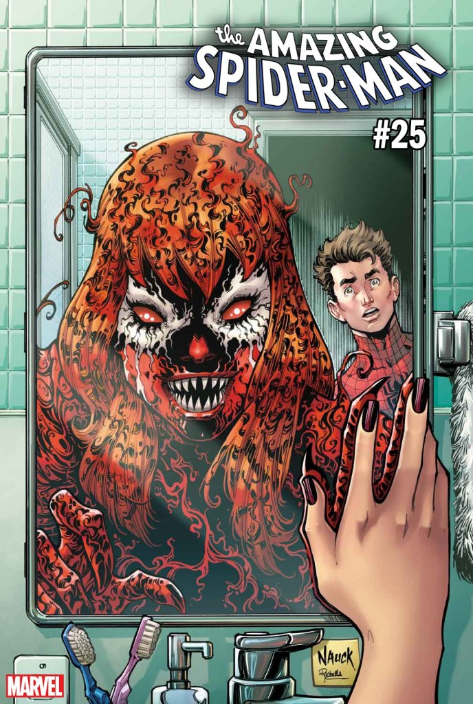 AMAZING SPIDER-MAN 25 TODD NAUCK CARNAGE-IZED VARIANT (MAY190822)