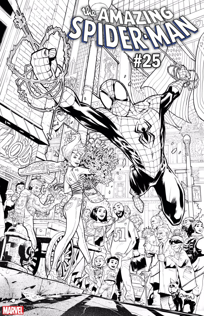 AMAZING SPIDER-MAN 25 PAT GLEASON VARIANT (MAY190820)