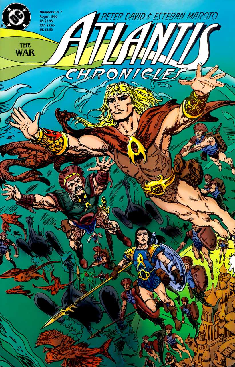 Review: Atlantis Chronicles #6