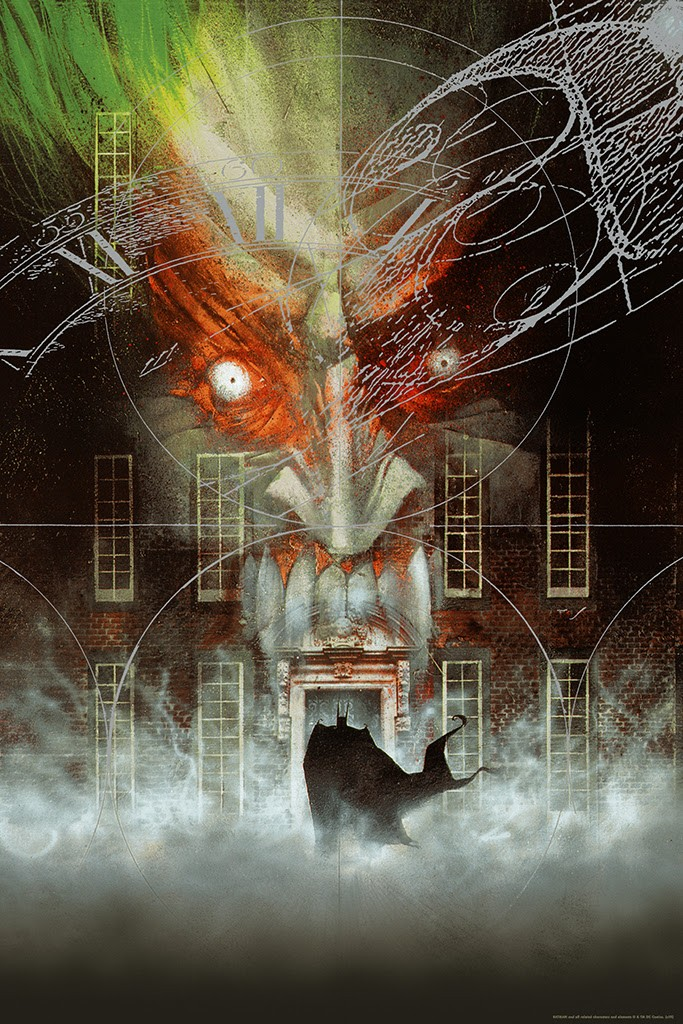 BATMAN: ARKHAM ASYLUM by Dave McKean