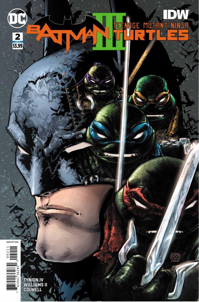 Batman/Teenage Mutant Ninja Turtles III #2 (of 6)