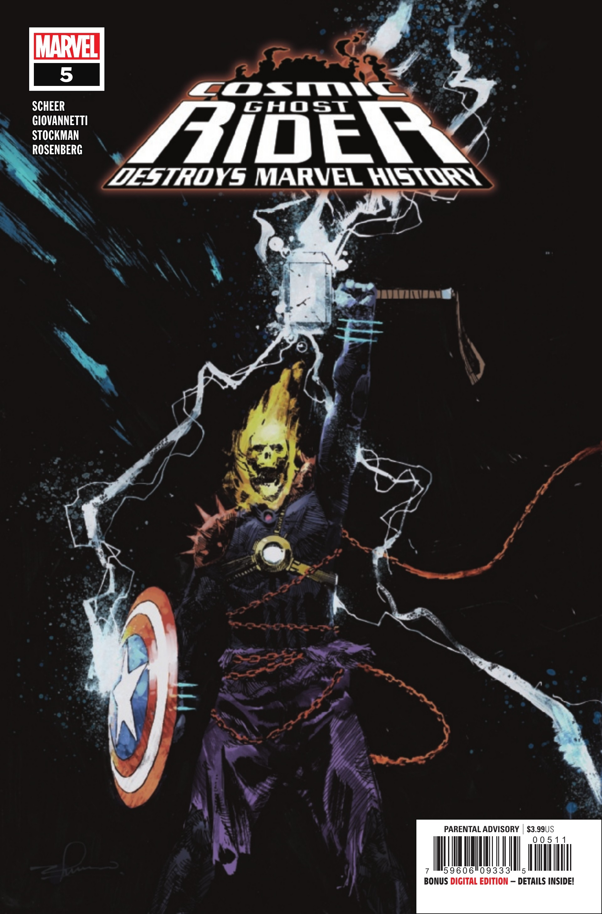 Preview: Cosmic Ghost Rider Destroys Marvel History #5 (of 6)