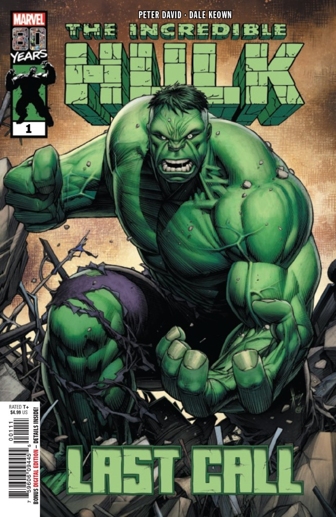 The Incredible Hulk: Last Call #1