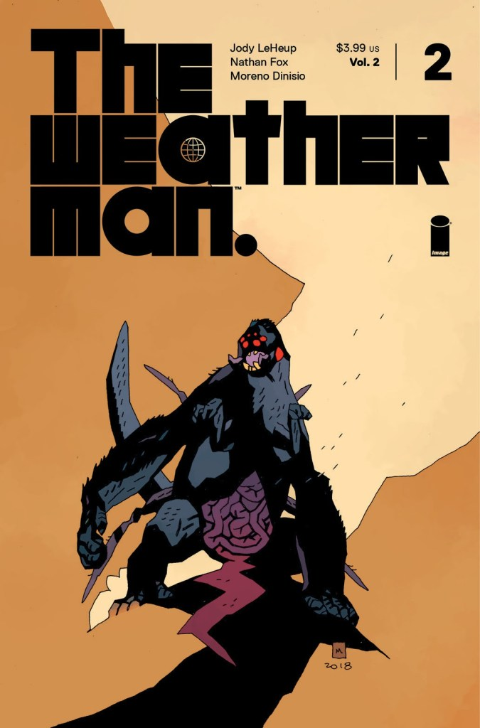 The Weatherman, Vol. 2 #2 variant by Mike Mignola