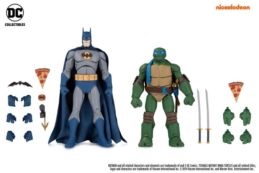 Batman and Leonardo